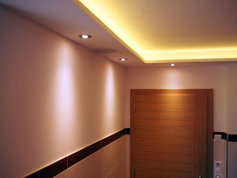 Indirekte Beleuchtung Abgehängte Decke deckenbeleuchtung oder innenausbau mit rigips vom stuckateur
